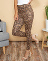 Leader Of The Pack Legging - Leopard