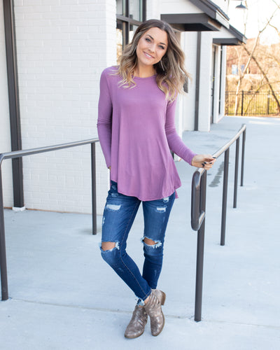 Leave An Impression Tunic - Lavender