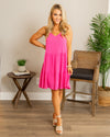 Let Love In Dress - Hot Pink