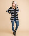 Let Me Introduce You Stripe Cardigan - Grey