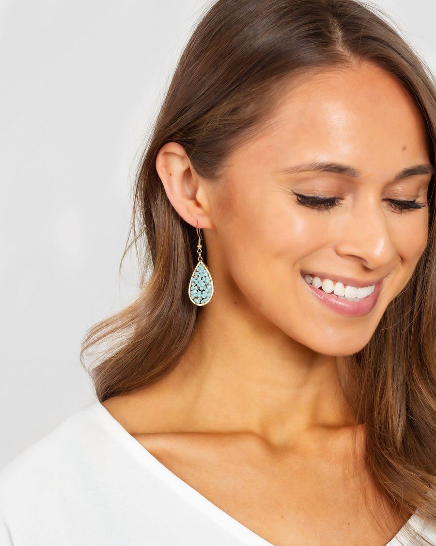 Lindley Earrings - Sky Blue