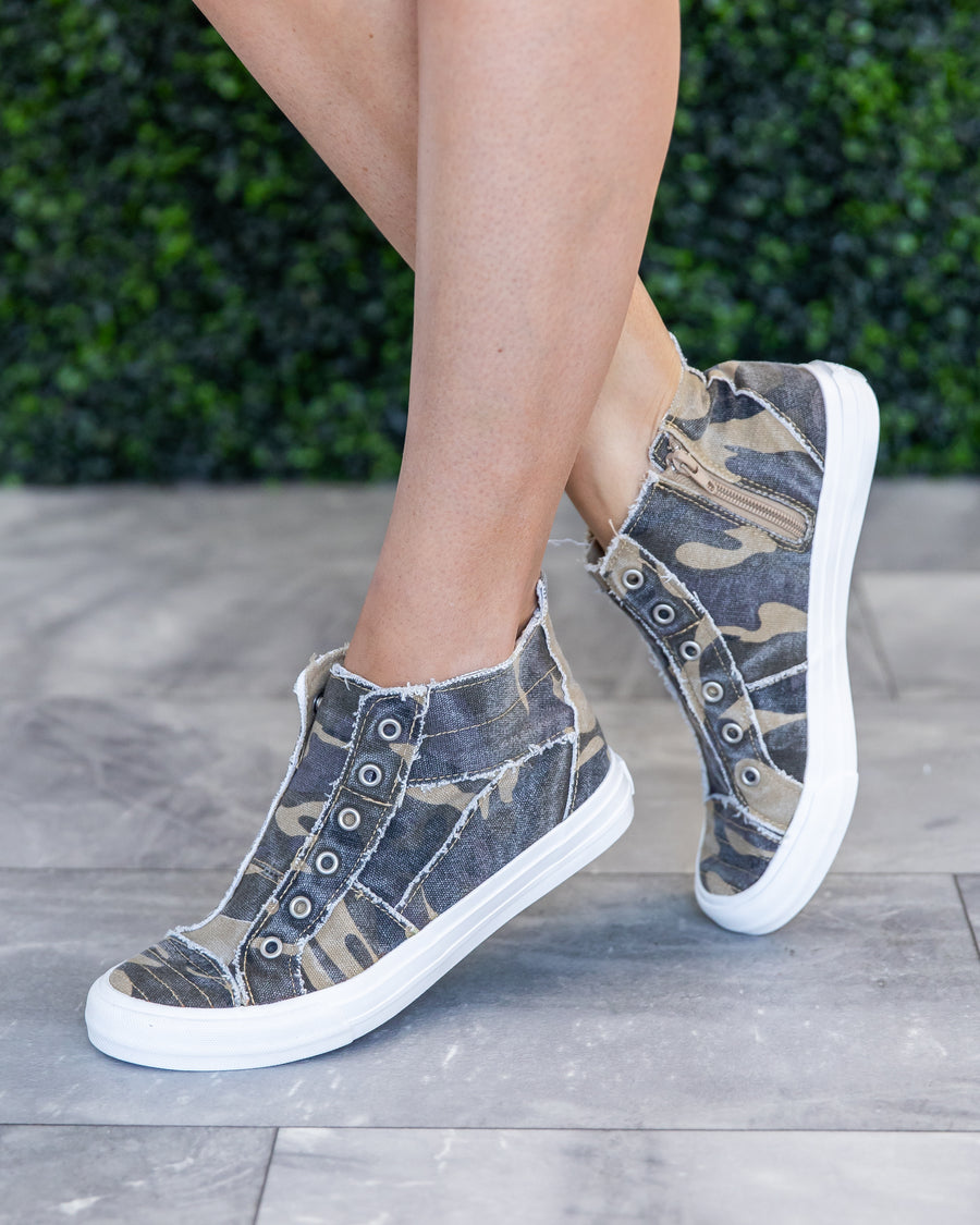 Loraine High Top Sneakers - Camo