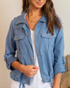Lost Track Of Time Jacket - Denim Blue