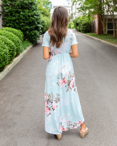 Lost Without You Dress - Sky Blue