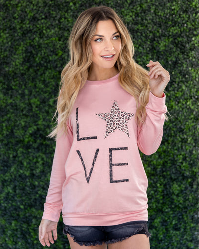 Love Is In The Air Top - Pink