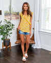 Love This Life Tank - Sunshine Yellow