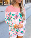 Love The Chase Top - Coral
