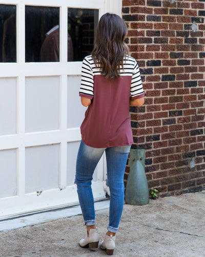Lowkey Weekend Top - Marsala