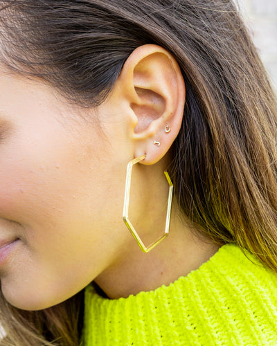 Macey Earrings - Gold