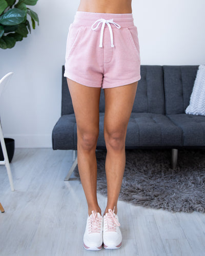Made For Relaxing Shorts - Mauve
