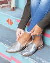 Chinese Laundry Turner Mules - Pewter