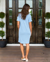 Make Things Easy Dress - Sky Blue