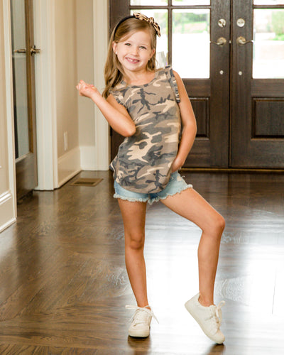 Make Things Simple Top - Camo