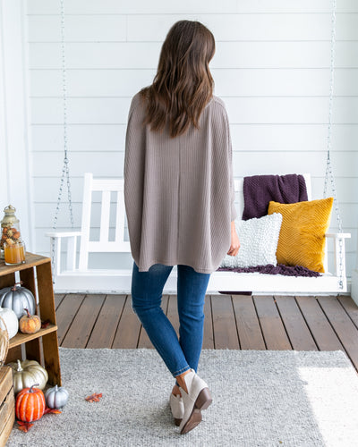 Making My Own Path Top - Taupe