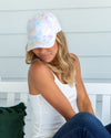 Marlowe Tie Dye Hat - Blue Multi