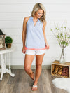 Worth The Tassel Tank - Lt. Blue