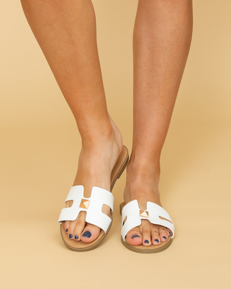 Maylin Sandal - Off White