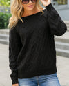 Meant For Greatness Sweater - Black