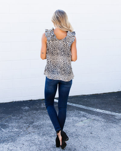 Meet Me In Midtown Tank - Leopard