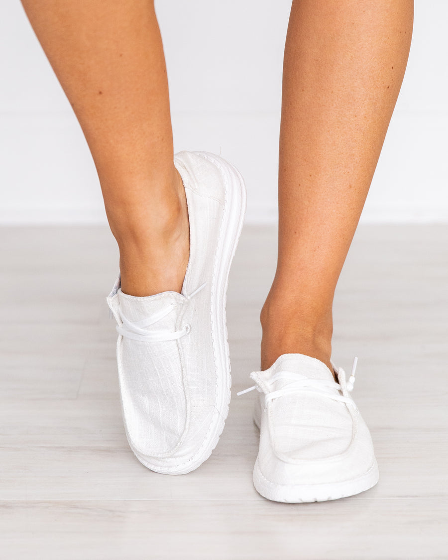 Mellie Slip On Sneakers - Off White