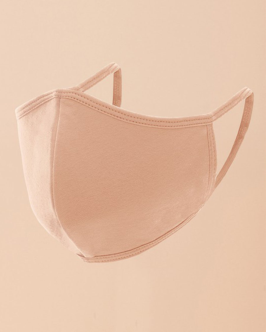 Mia Face Mask - Light Pink