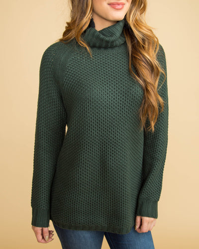PREORDER - Midnight Magic Knit Sweater - Forest