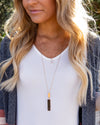 Mindy Layered Necklace - Gold