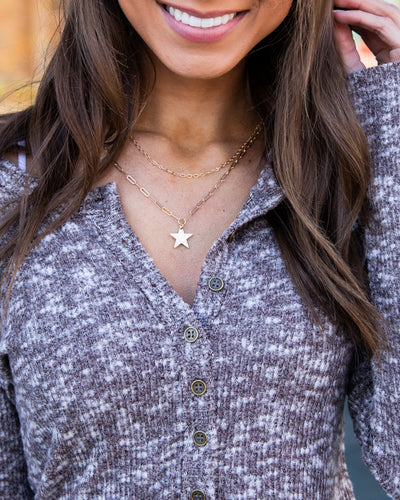 Morgan Layered Necklace - Gold