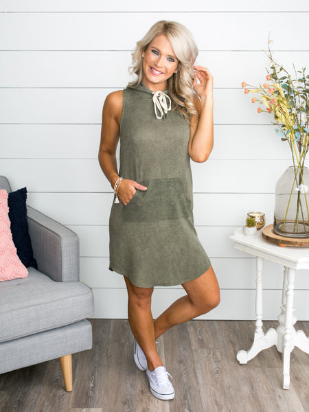 My Everyday Dress - Olive