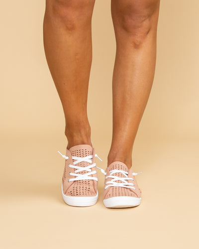 Not Rated Locklyn Sneaker  - Blush