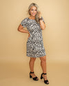 Needed You All Along Leopard Dress - Ivory