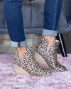 Nicole Wedge Booties - Leopard