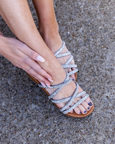 Not Rated Emma Sandal - Silver
