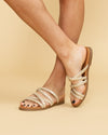 Not Rated Aviva Braided Sandal - Gold