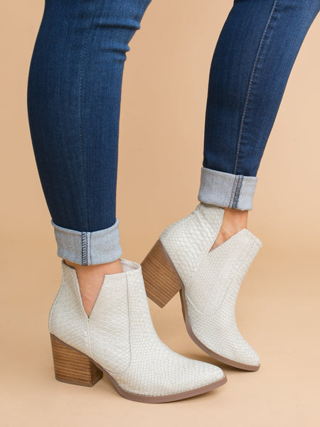 Not Rated Emma Bootie - Off White