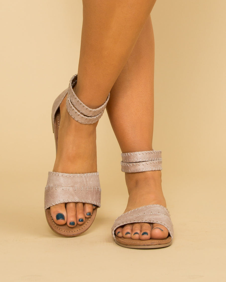 Not Rated Madison Sandal - Taupe