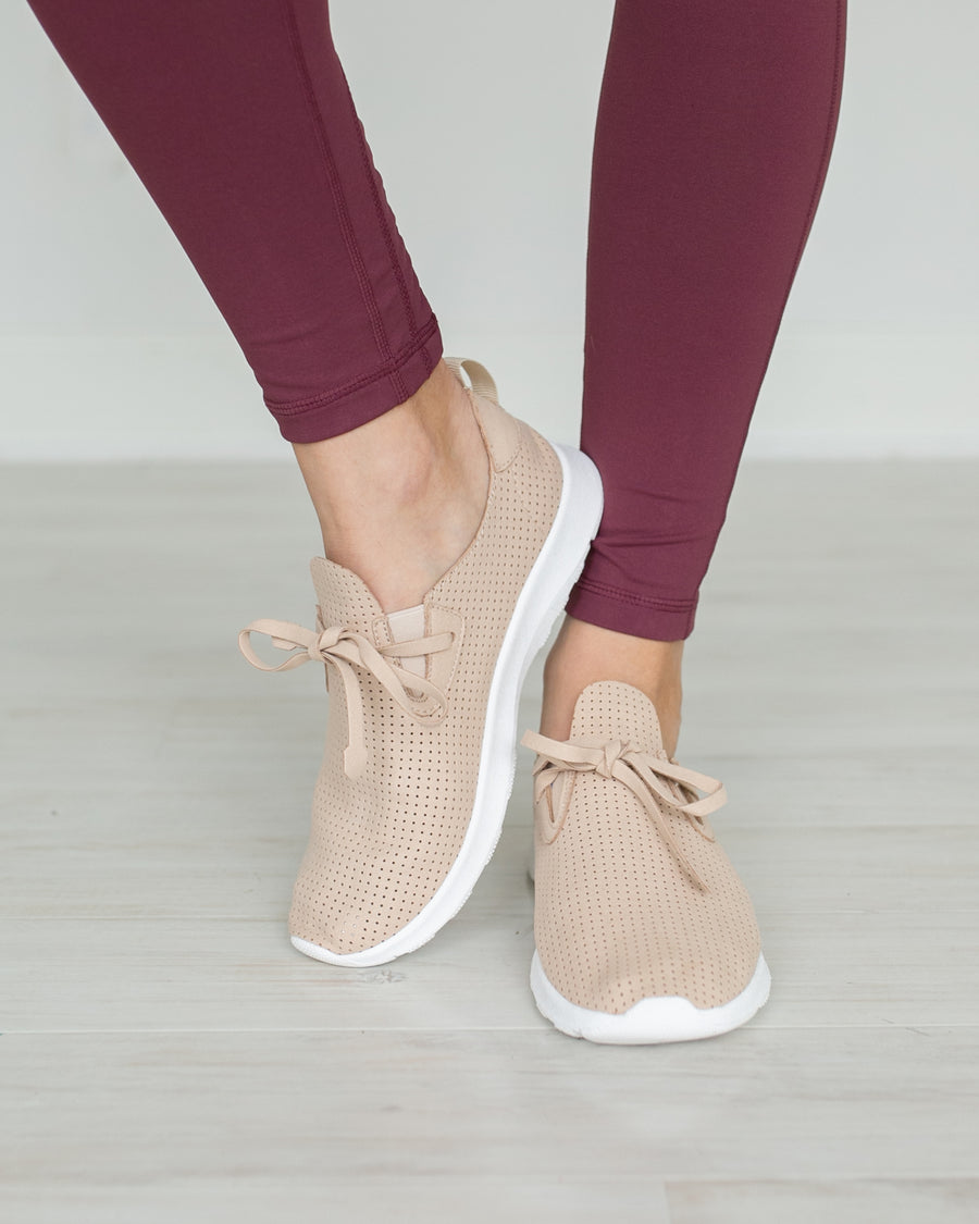 Not Rated Natalie Tennis Shoes - Beige