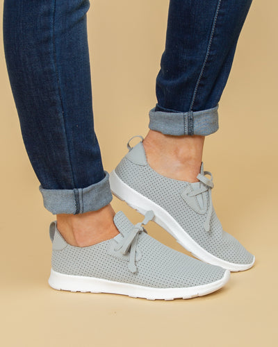 Not Rated Natalie Tennis Shoes - Lt Grey