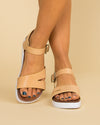 Not Rated Weslynn Flatform Sandal - Nude