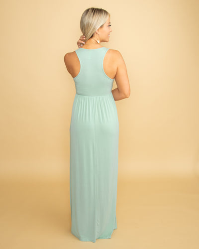 Nothing Greater Racer Back Maxi - Sage