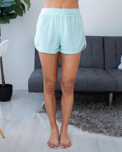 On A Roll Shorts - Mint