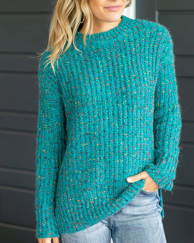 On Second Thought Sweater - Teal