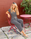 On The Coast Jumpsuit - Black