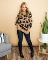 On The Wild Side Sweater - Taupe