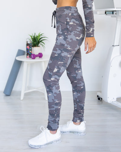 Out In Nature Joggers - Smoky Grey
