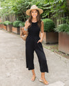 Part Of Your Charm Jumpsuit - Black
