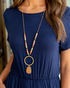 Payton Beaded Necklace - Multi