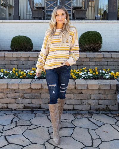 Perfect Opportunity Sweater - Mustard