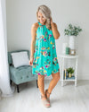 Plan On Forever Dress - Mint
