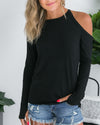 Play By Play Top - Black